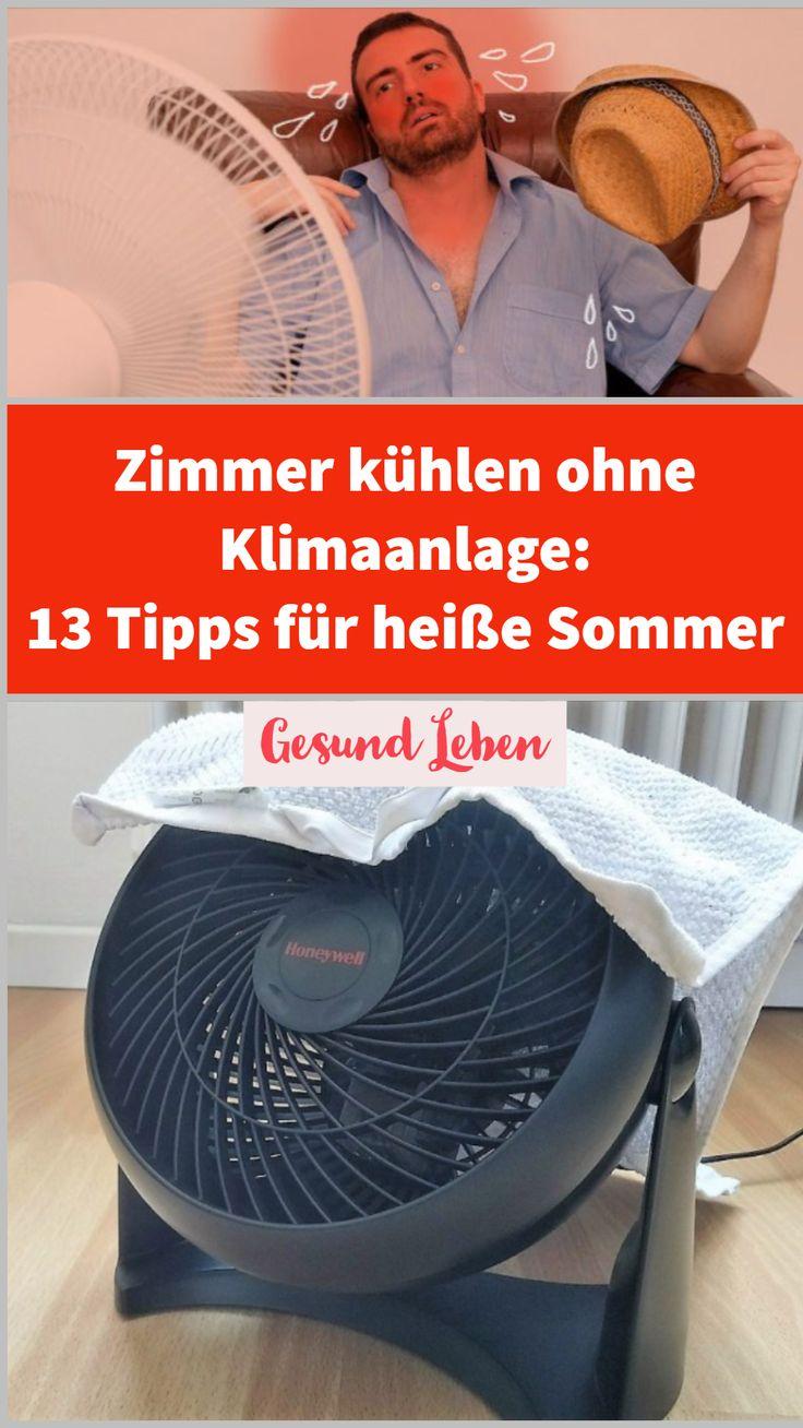 Zimmer kühlen ohne Klimaanlage: 13 Tipps für heiße Sommer