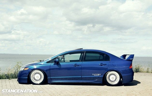 Slammed Civic Si | Limited Addiction // Jonas' Honda Civic Si