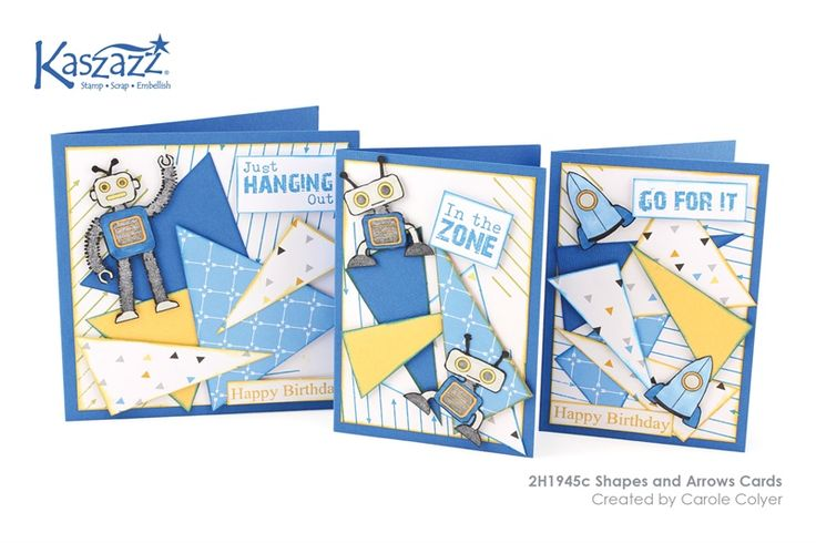 2H1945c Shapes and Arrows Cards