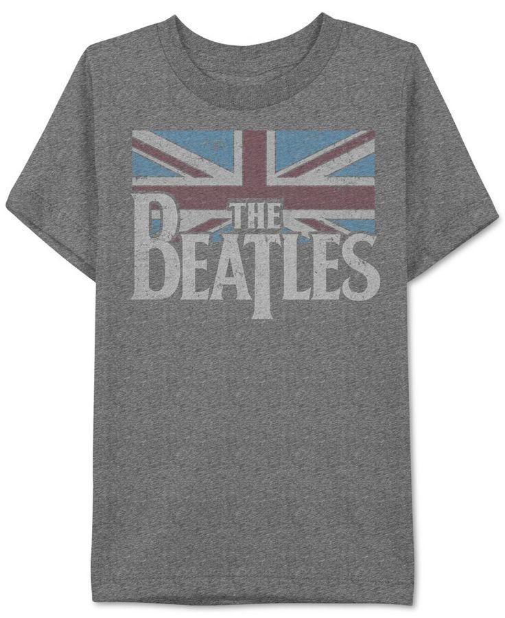 Jem Men's The Beatles Flag Graphic-Print T-Shirt