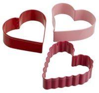 Wilton 3-Piece Valentine Cookie Cutter Set £4.09 from AmazonWilton 3-Piece Valentine Cookie Cutter Set £4.09 from Amazon
