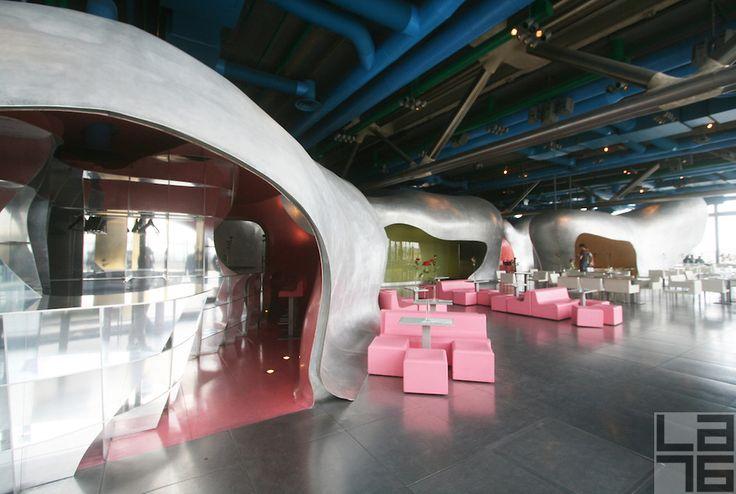 Georges restaurant in Paris | ... area at the restaurant at Centre Georges Pompidou in Paris, France