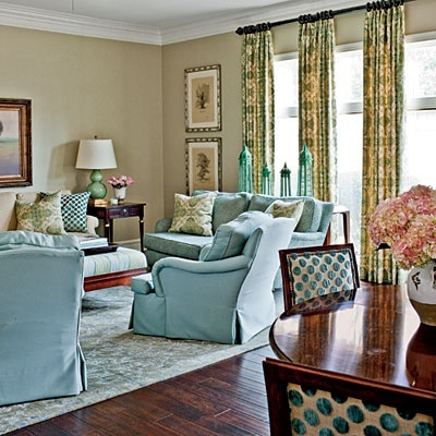 22 best images about Blue and green living room schemes on Pinterest