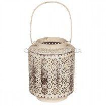 Lanterna metallo ANGELICA Home & Country Casabiancheria | #Casa #ShabbyChic #HomeDecor #Arredamento #NegozioOnline #Spedizioni #Lanterne #Romantico