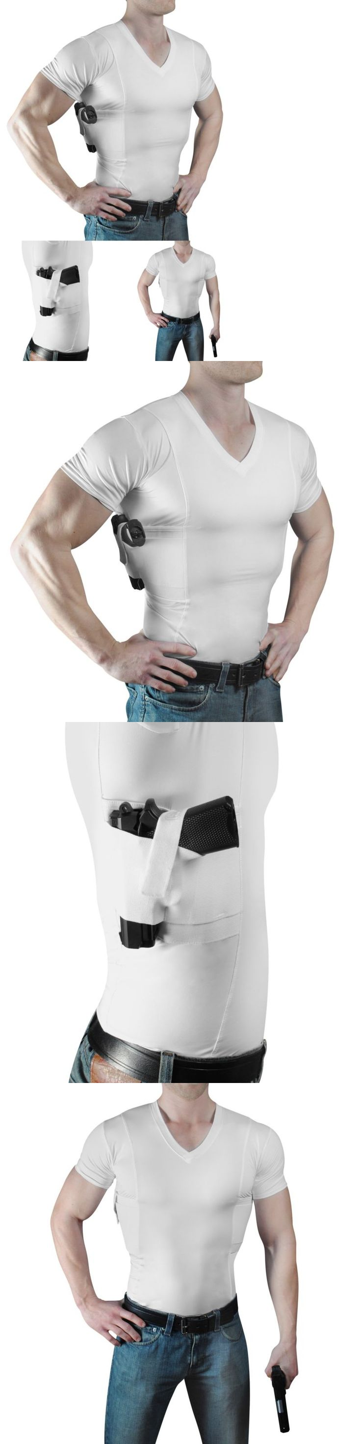 Tactical Clothing 177896: Concealmentclothes Men'S V-Neck Undercover- Concealed Carry Holster Shirt (Large -> BUY IT NOW ONLY: $31.18 on eBay!