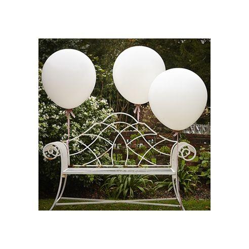 Ballon géant blanc - 3 pièces
