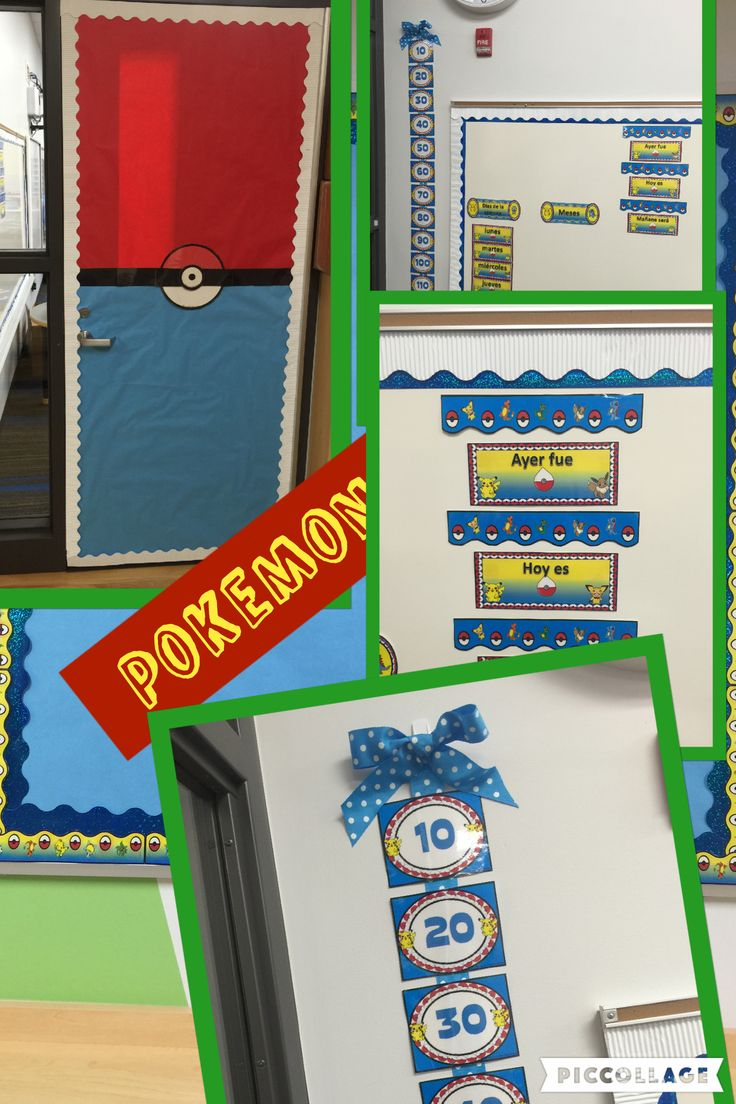 Bilingual dolphin counting card 6 clipart etc - Pokemon I Started To Decorate My Classroom Bilingual Stars Mrs Partida