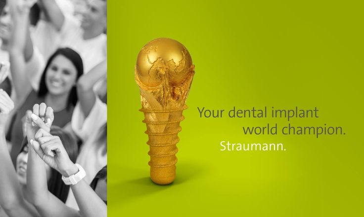 Your dental implant world champion. Straumann