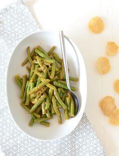 Sajoer boontjes, recept van Uit Pauline's Keuken