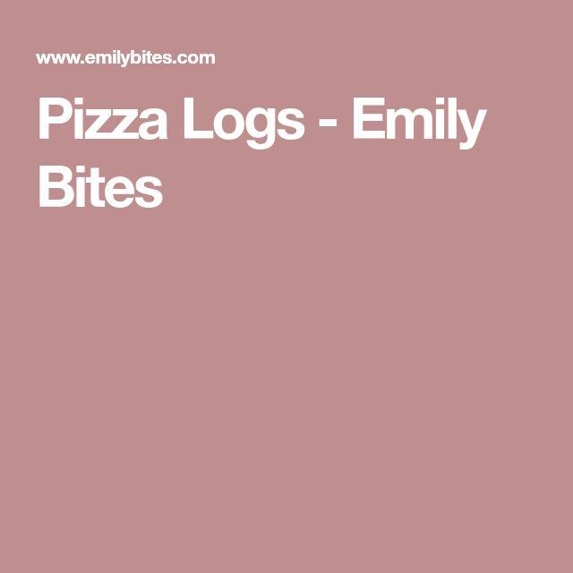 Pizza Logs - Emily Bites
