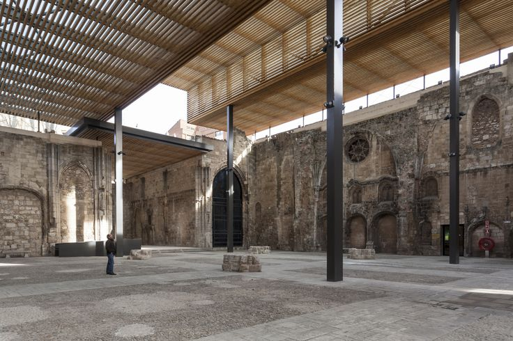 Cobertura do Mosteiro de San Juan,© Santiago Escribano Martínez