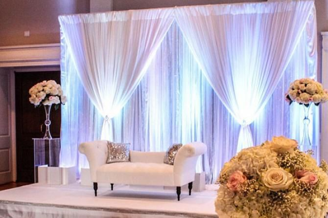 10 Stunning Stage Decor Ideas For Indian Weddings This Season - BollywoodShaadis.com