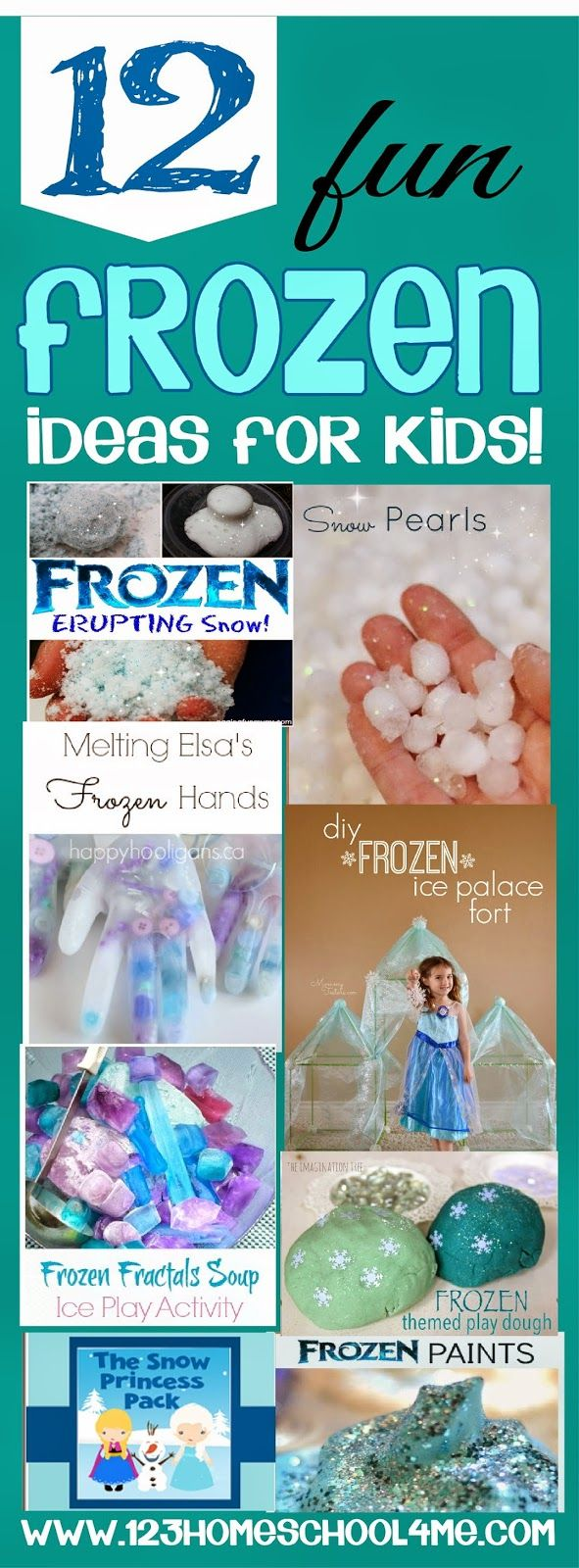 12 really fun Disney Frozen Kids Activities #disney #frozen #kidsactivities