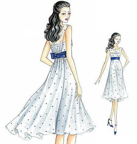 Marfy Dress 2826