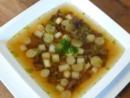Afbeeldingsresultaat voor heldere aspergesoep van schillen recept
