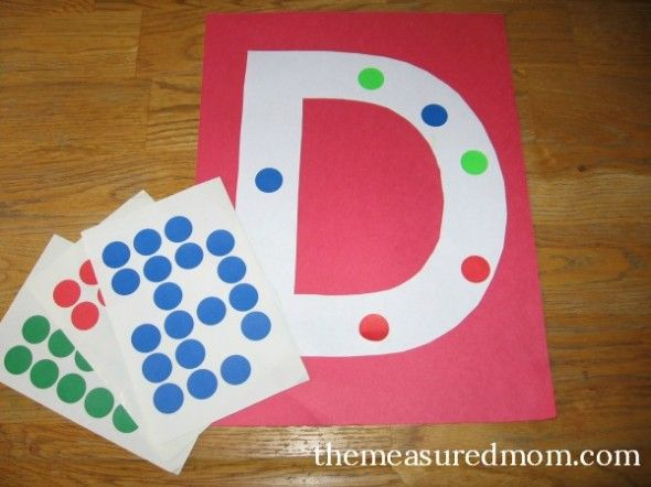 8 Letter D Crafts - The Measured Mom