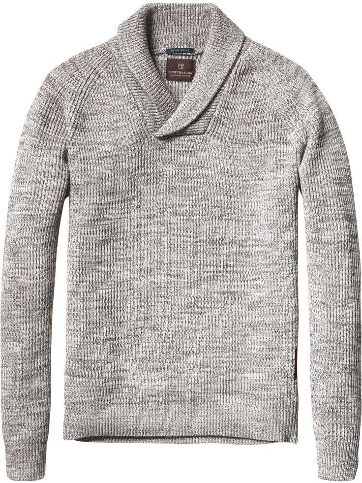 Shawl Collar Pullover | Pullover | Men's Clothing at Scotch & Soda