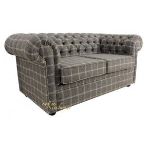 Winchester Chesterfield 2 Seater Wool Sofa