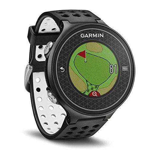 Buy The New Garmin Approach Gps Black Golf Watch At Discount Prices Shop Golf Gps And Rangefinders At Hurricane Golf