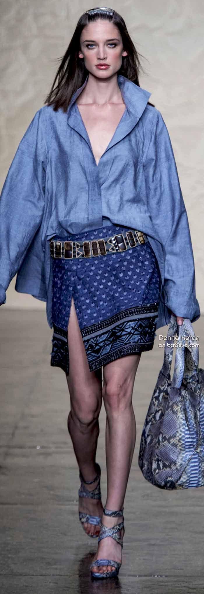 Donna Karan Spring 2014 #NYFW Repinned by www.fashion.net
