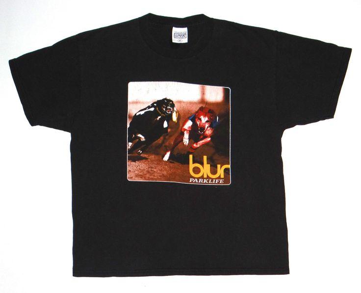 Vtg '94 Blur Shirt Concert Tour Britpop Band 90s Oasis Stones Roses Morrissey | eBay