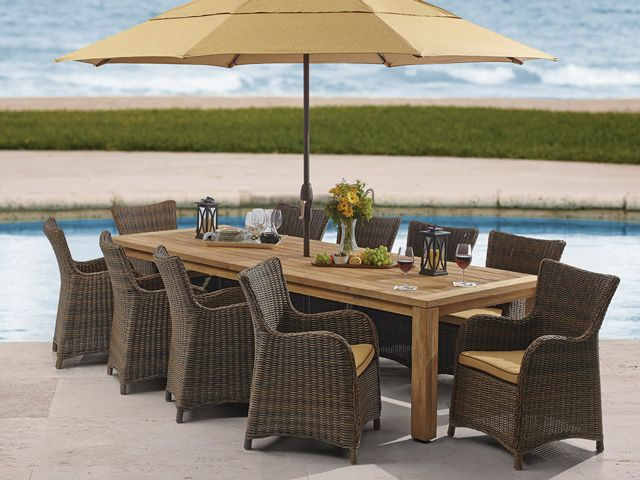 outdoor teak dining table sale furniture set patios