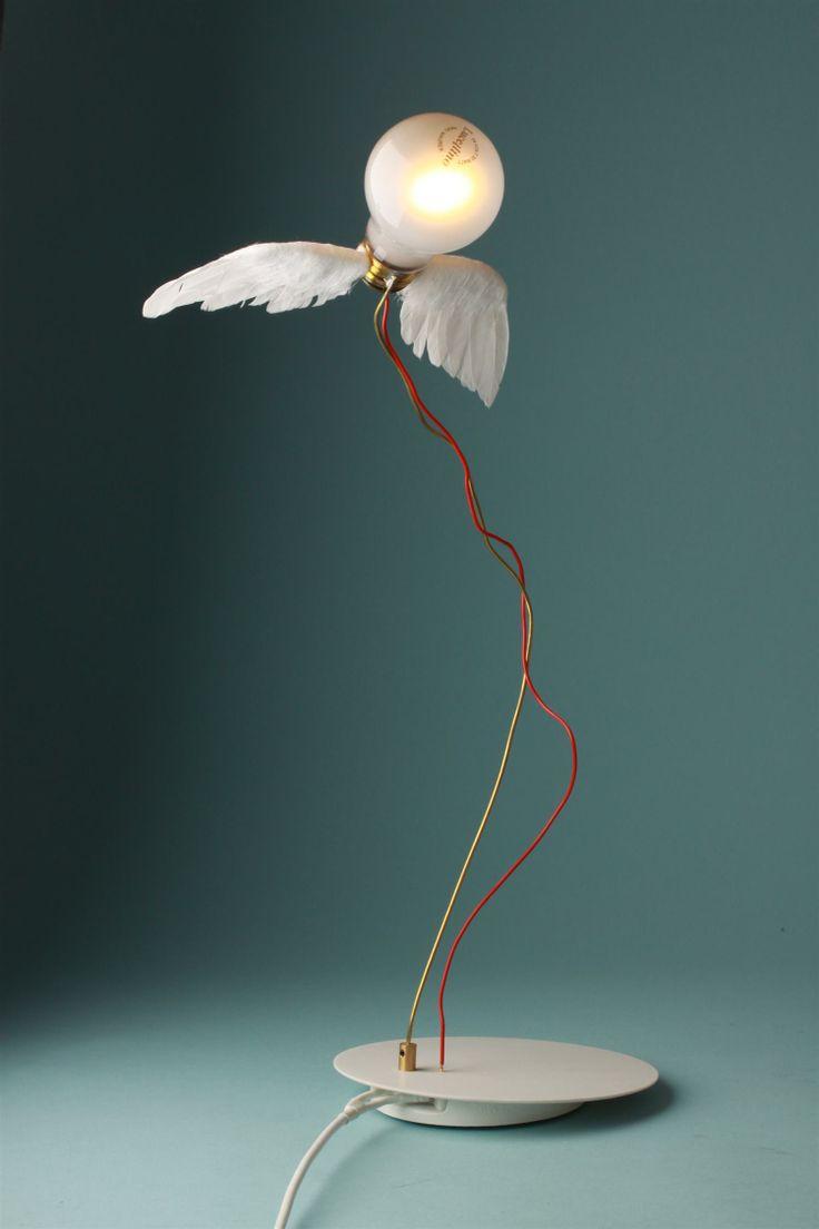 Table lamp, Lucellino. Designed by Ingo Maurer, Germany. 1992.