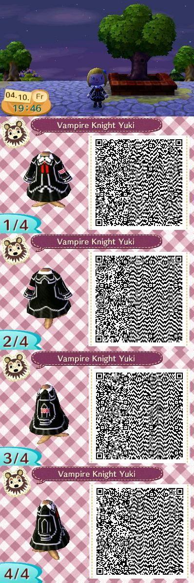 Animal Crossing QR-Codes Disney   AC new leaf - QR code - Yuki by Nami-Blue