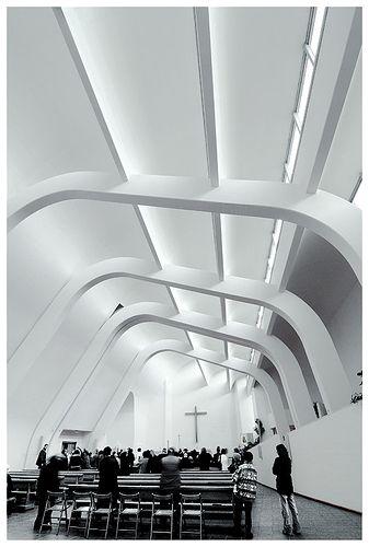 Alvar Aalto, Chiesa Di Riola #interiors #church #architecture
