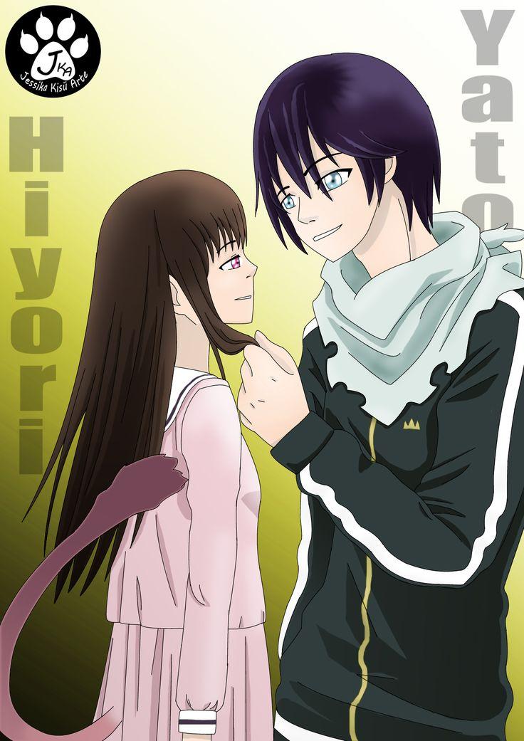 Hiyori e Yato anime noragami