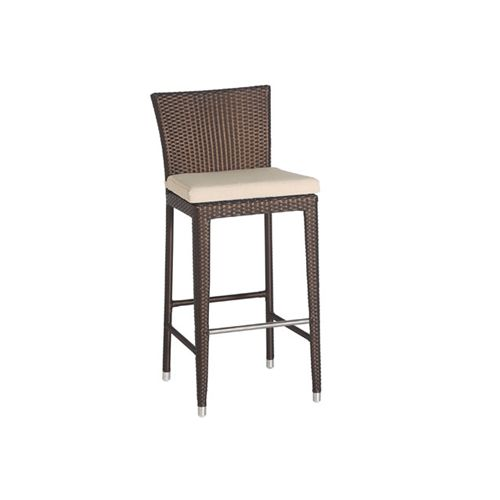 Bar Chair The Pacific Bar Chair Is Made Out Of Tightly Woven PE Wicker With  A