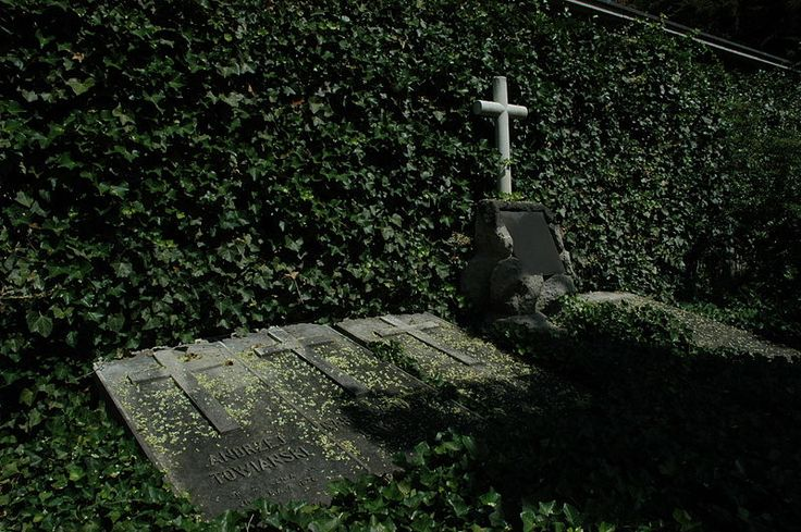File:Graves of members of Koło Sprawy Bożej and their leader Andrzej Towiański.JPG