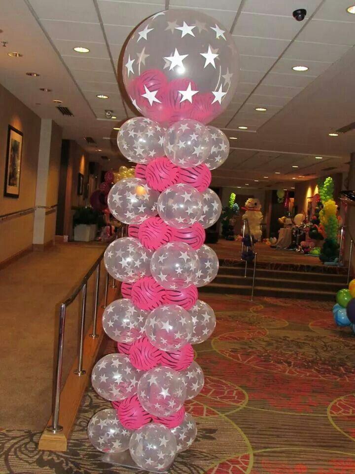 Best balloon columns pillars decoration images on