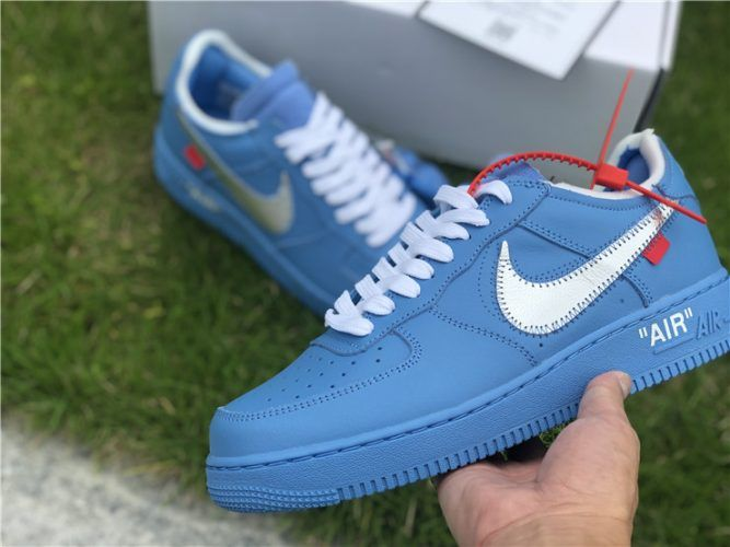 Off White x Nike Air Force 1 Low MCA Chicago in 2020 | Nike