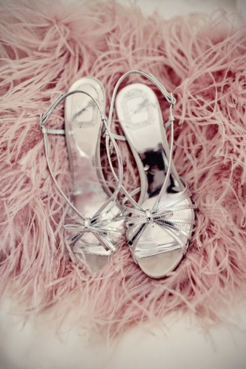 : Be A Girls, Woman Shoes, Bridesmaid Shoes, Silver Shoes, Dance Shoes, Parties Shoes, Heels, Pink Shoes, Feathers