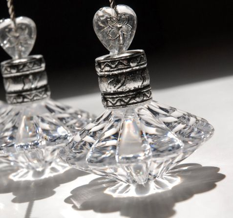 Crystal Place Card & Table Number Holders $11 - Set of 4