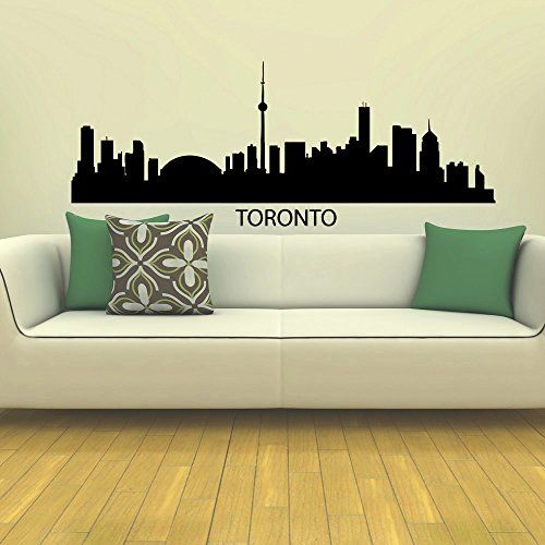 Best City Silhouette Images On Pinterest Wall Decal Sticker - How to make vinyl wall decals with silhouette