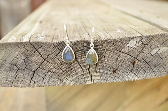 Genuine Newfoundland LABRADORITE Sterling Silver Earings e047 on Etsy, $30.00 CAD