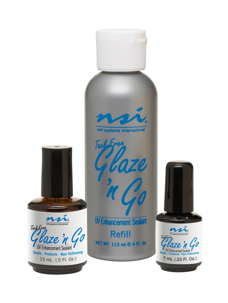 The BEST Product Out There: Tack-Free Glaze 'N Go!   www.nsinails.com