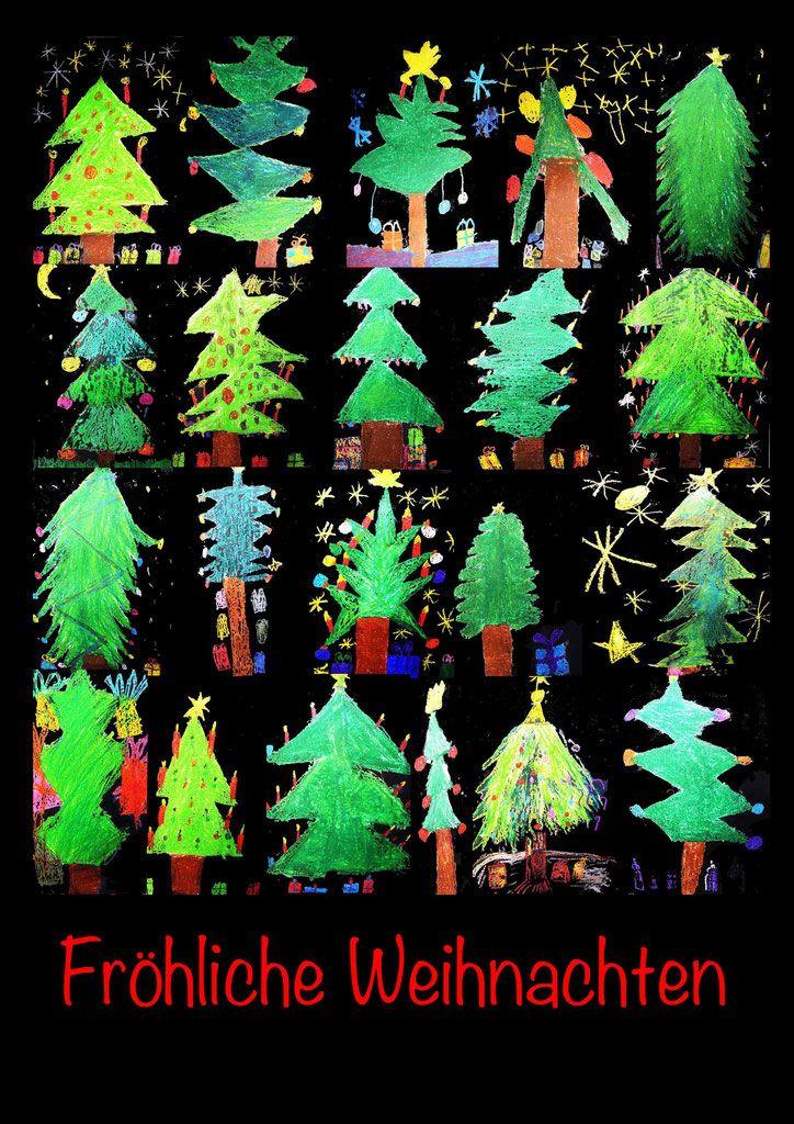 die besten 25 weihnachten kunst grundschule ideen auf pinterest weihnachtkarten basteln. Black Bedroom Furniture Sets. Home Design Ideas