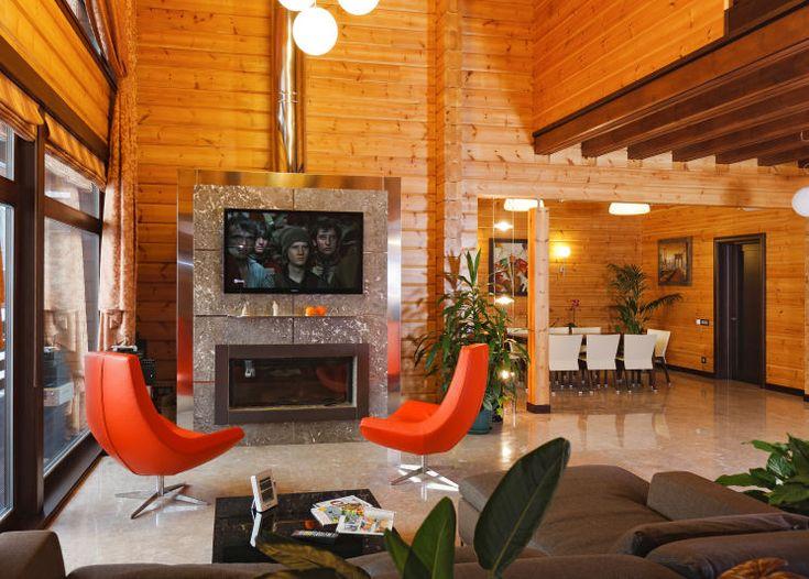 12 Log house Premium style