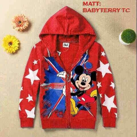 Jaket mickey UK kid Red @45rb Bhn babyteri, fit 6-7thn, seri 2pcs, ready mei ¤ Order By : BB : 2951A21E CALL : 081234284739 SMS : 082245025275 WA : 089662165803 ¤ Check Collection ¤ FB : Vanice Cloething Twitter : @VaniceCloething Instagram : Vanice Cloe
