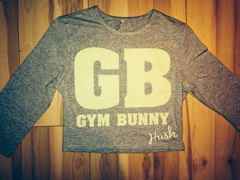 Hush Gym Bunny crop top – Hush Designer House