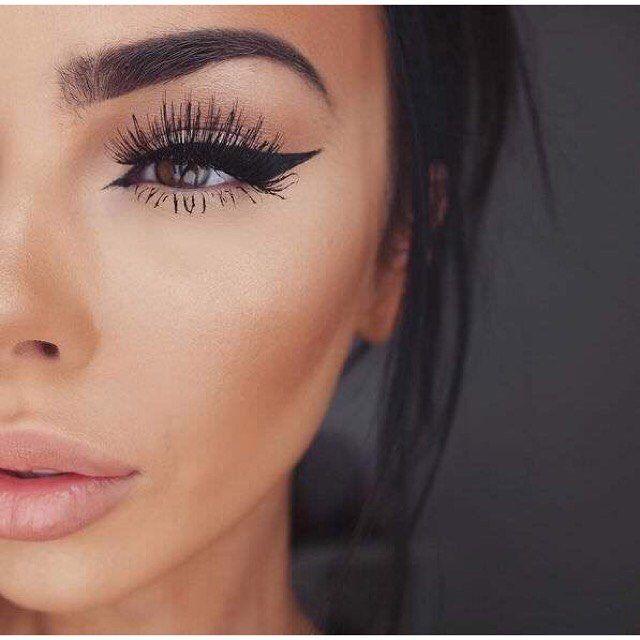 Έντονο #eyeliner και μεγάλες βλεφαρίδες για σήμερα! Για ραντεβού στο σπίτι σας στο τηλέφωνο  21 5505 0707!  #γυναικα #myhomebeaute  #ομορφιά #καλλυντικά #καλλυντικα #μακιγιαζ #φθινοπωρο #βλεφαριδες #ματια #μολύβι #κοτσος #μακιγιάζ