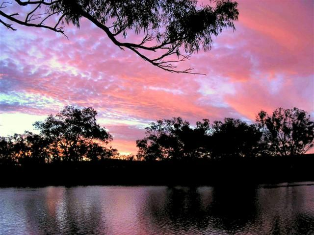 Colours of the Australian Outback (Sunset)