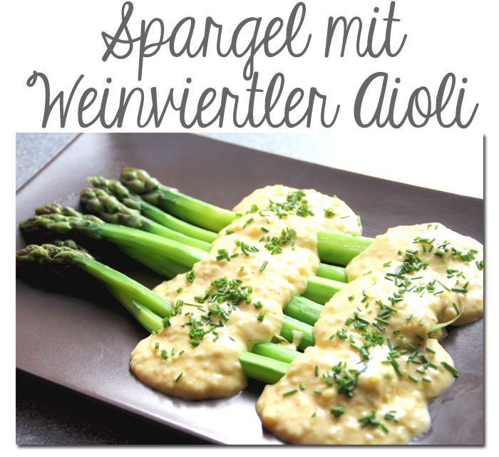 Spargel mit Weinviertler-Ayoli