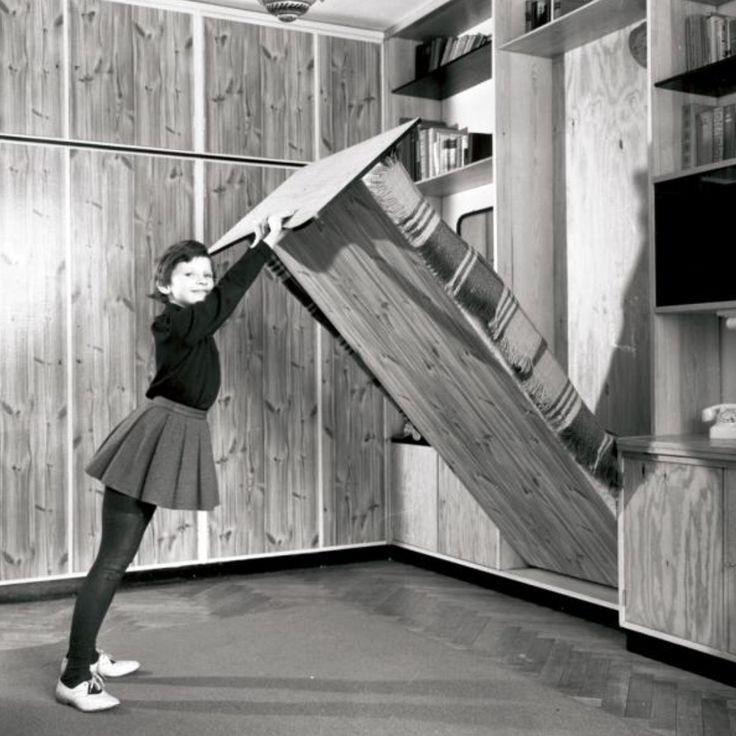 Przyścienny mebel segmentowy 1963 r.
