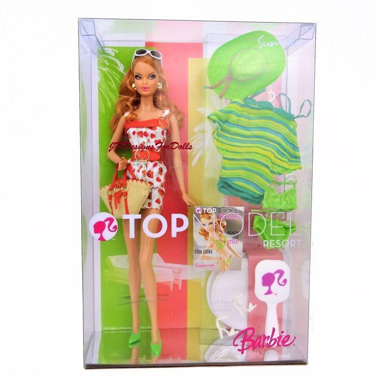 Barbie Top Model Resort Summer Muse Doll Strawberry Blonde Hair New In Box Barbie Blonde Strawberry Blonde Strawberry Blonde Hair Barbie Top