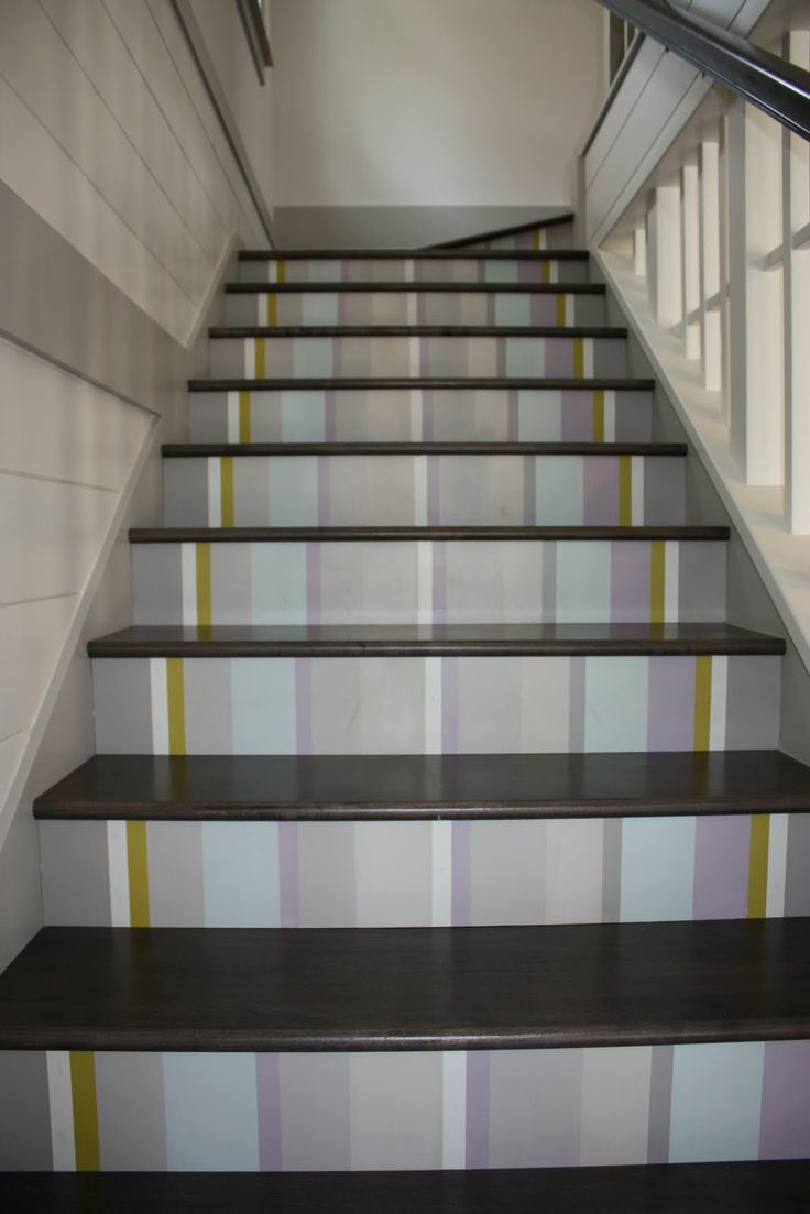 best images about painted stairs on pinterest runners
