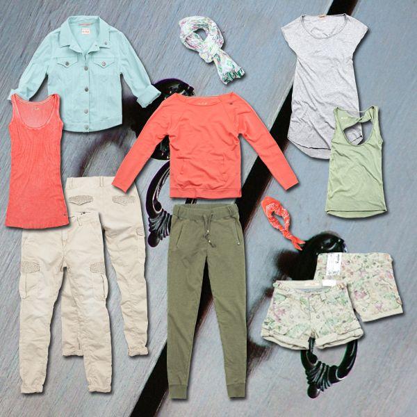 Summer closet...ready for your #holidays #40weft #SS2014 #womenfashion #lookbook #outfit #fashionblogger #closet #wardrobe #summer